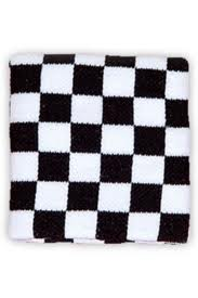 Those checkered sweatbands that all the children of the dark were wearing (or posers like me)